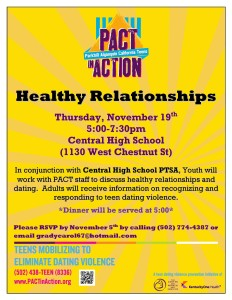 Pact - Central High School Flyer