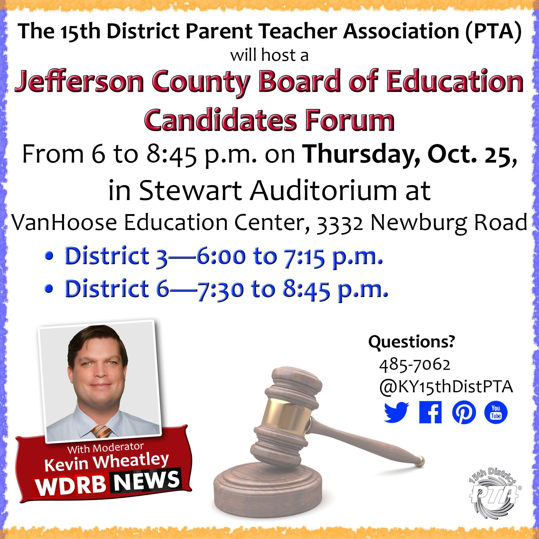 15th District PTA | Every child  One voice